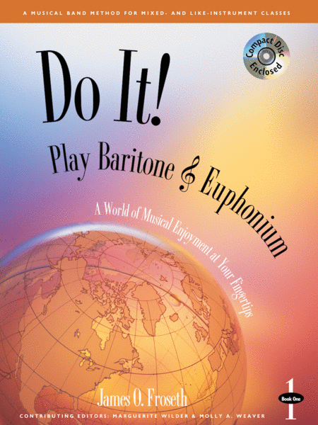 Do It! Play Baritone/Euphonium Book 1 & CD