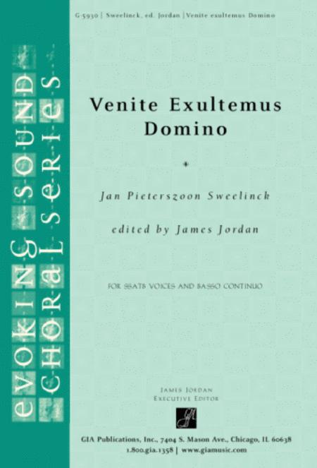 Venite Exultemus Domino-Instrumental Part (Bass)