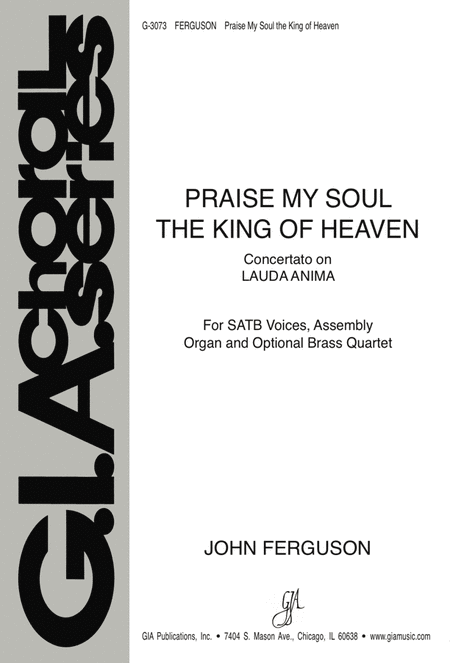 Praise, My Soul, the King of Heaven (Instrumental Parts)