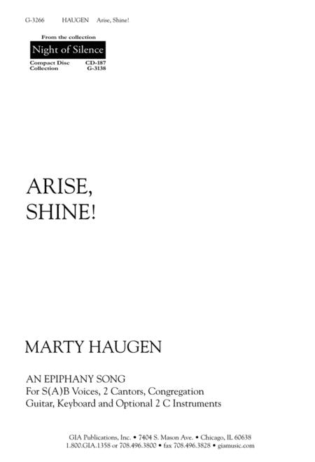 Arise, Shine! - Guitar Edition