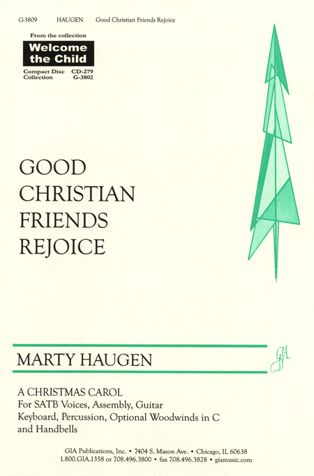 Good Christian Friends, Rejoice (Instrumental Parts)