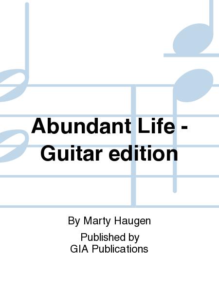 Abundant Life - Guitar edition