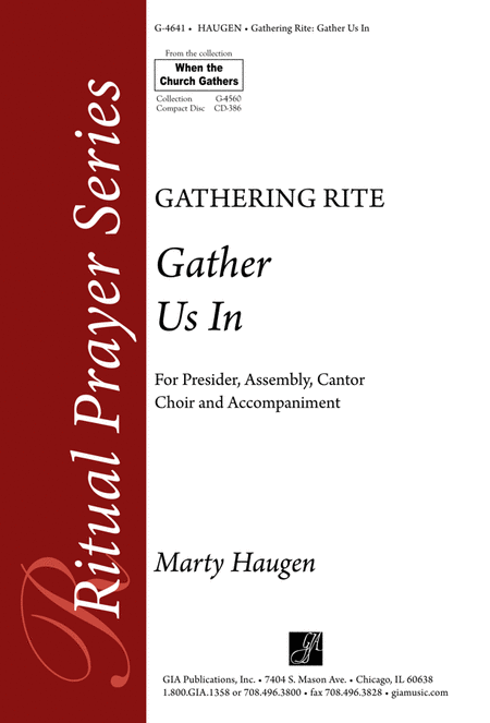 Gather Us In (Gathering Rite (Instrumental Parts)
