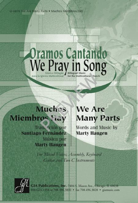 We Are Many Parts/ Muchos miembros hay