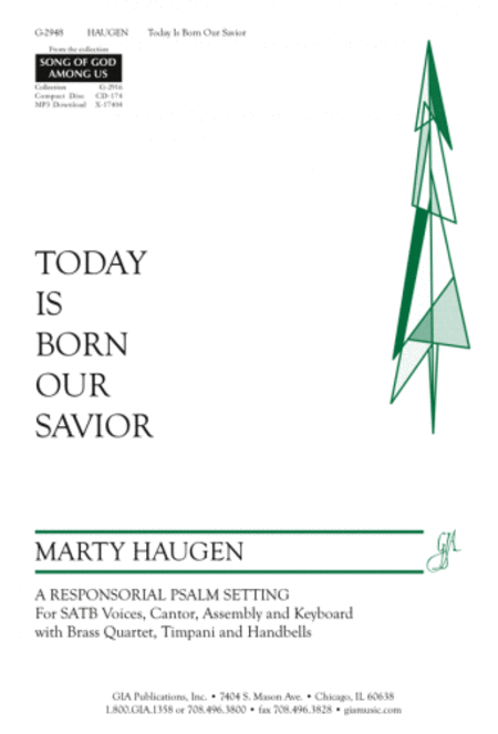 Today Is Born Our Savior (Instrumental Parts)