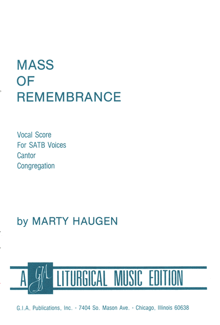 Mass of Remembrance (Instrumental Parts)