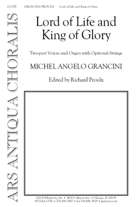 Lord of Life, King of Glory (Instrumental Parts)
