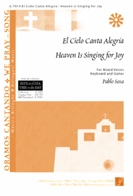 El Cielo Canta Alegria / Heaven Is Singing for Joy - Guitar edition