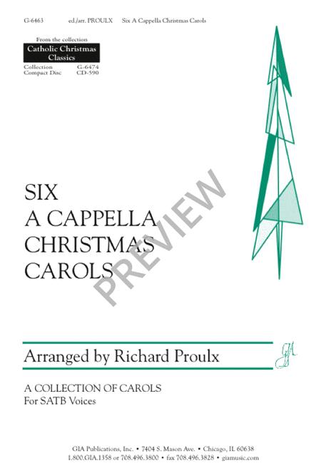 Six A Cappella Christmas Carols