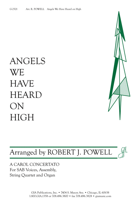 Angels We Have Heard on High (Instrumental Parts)
