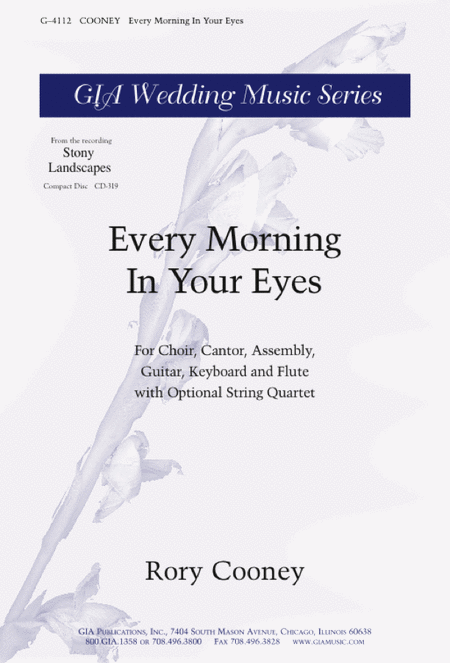 Every Morning In Your Eyes (Instrumental Parts)