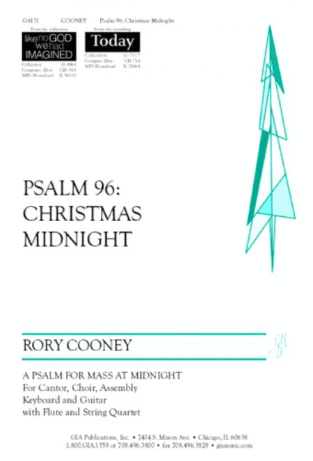 Psalm 96: Christmas Midnight - Instrument edition