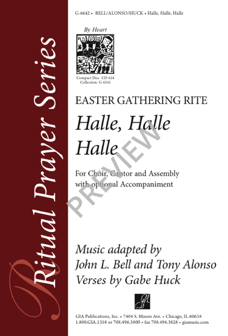 Halle, Halle, Halle: Easter Gathering Rite