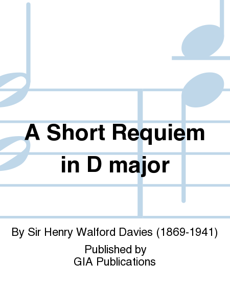 A Short Requiem in D major