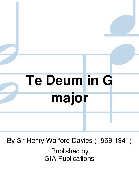 Te Deum in G major