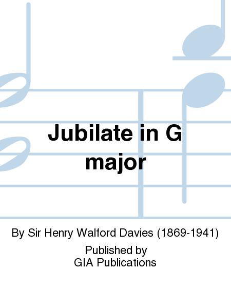 Jubilate in G major