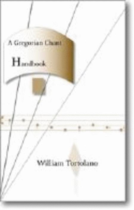 A Gregorian Chant Handbook