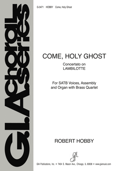 Come, Holy Ghost - Instrument