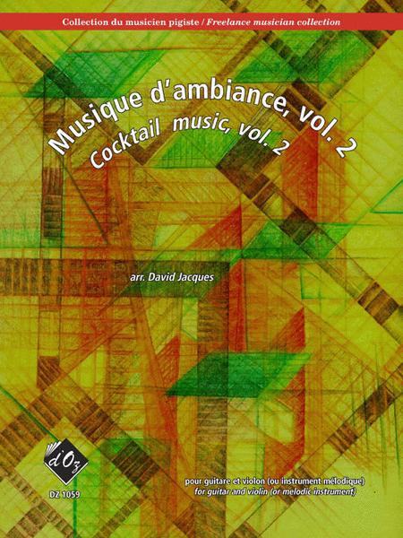 Collection du musicien pigiste, Musique d'ambiance, vol. 2