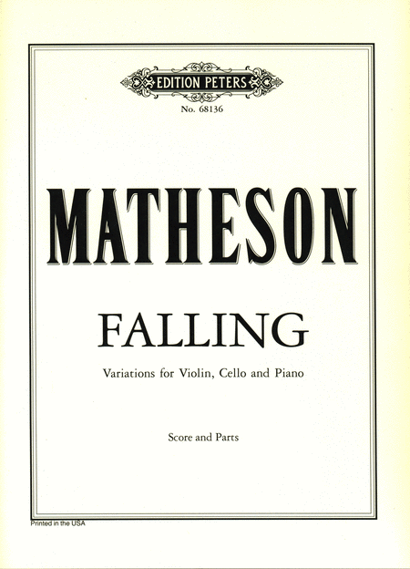 Falling (Variations for Violin, Violoncello, and Piano)