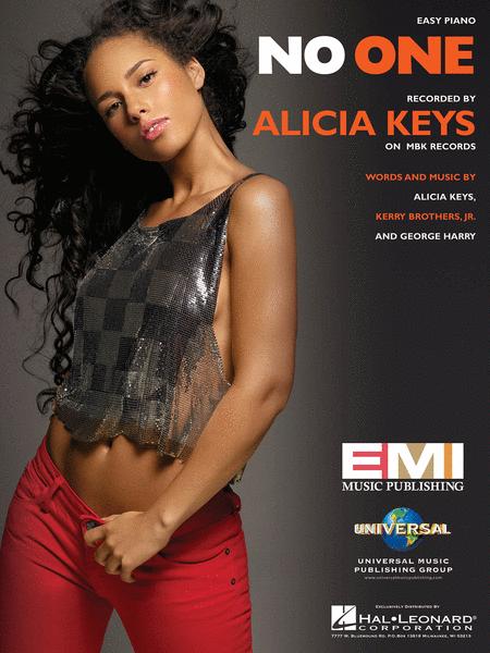 No One Sheet Music By Alicia Keys - Sheet Music Plus