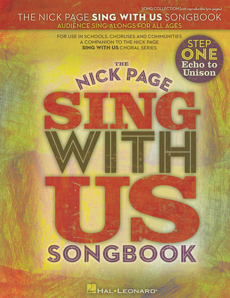 Nick Page - Sing with Us Songbook