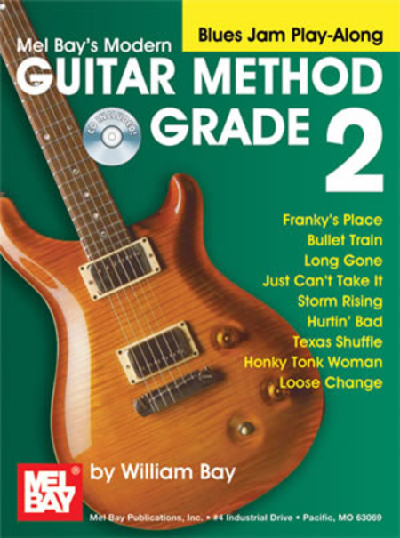 Modern Guitar Method Grade 2, Blues Jam Play-Along