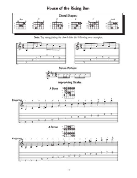 Modern Guitar Method Grade 1, Learn Rock Favorites