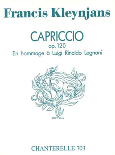 Francis Kleynjans: Capriccio: Hommage a Luigi Legnani Op. 120