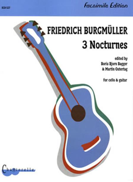 Friedrich Burgmuller: 3 Nocturnes for Cello & Guitar
