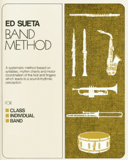 ed sueta band method alto saxophone book 1 sheet music sheet music plus. Black Bedroom Furniture Sets. Home Design Ideas