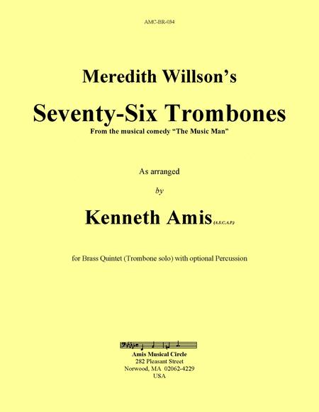 Seventy-Six Trombones (brass quintet)