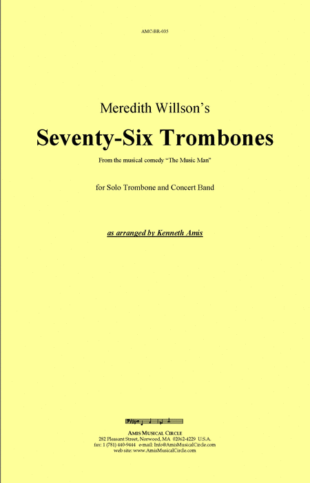 Seventy-Six Trombones (trombone and concert band)