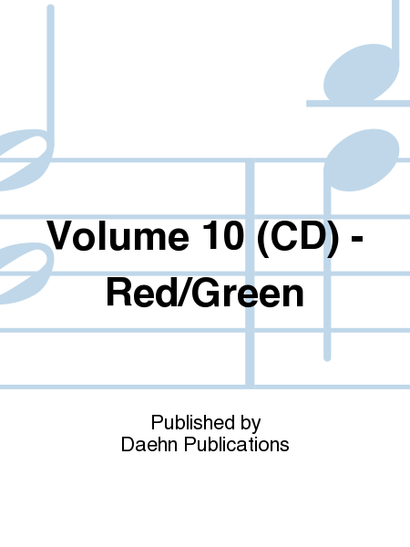 Volume 10 (CD) - Red/Green