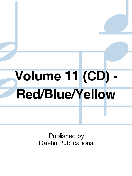 Volume 11 (CD) - Red/Blue/Yellow