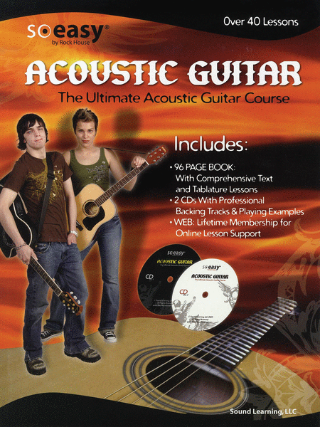 Rock House Ultimate Acoustic Guitar Course