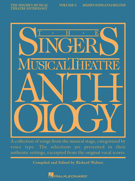 The Singer's Musical Theatre Anthology - Volume 5 - Mezzo-Soprano/Belter (Book only)