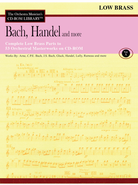 Bach, Handel and More - Volume X (Low Brass)