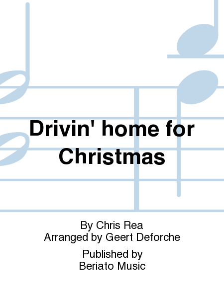 Drivin' home for Christmas