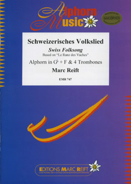 Schweizerisches Volkslied (Alphorn in Gb and F)