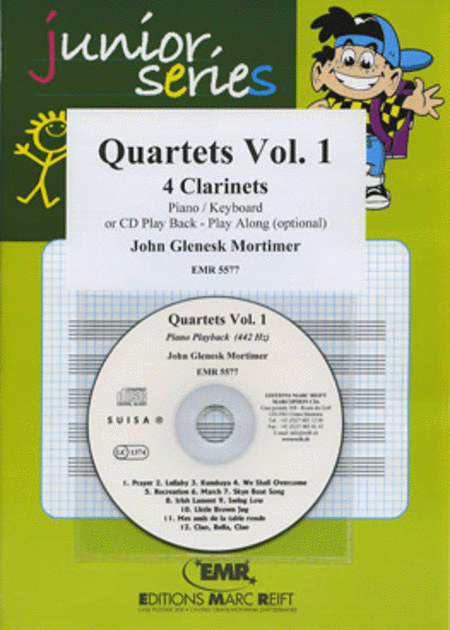 Quartets Volume 1 (with CD)