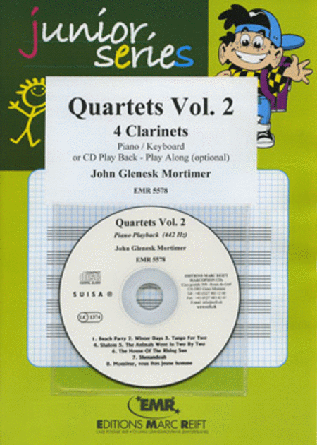 Quartets Volume 2 (with CD)