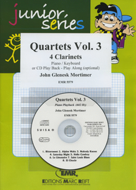 Quartets Volume 3 (with CD)