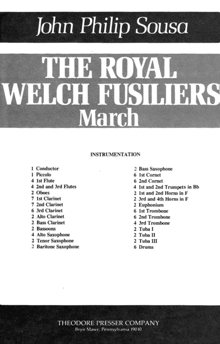 The Royal Welch Fusiliers