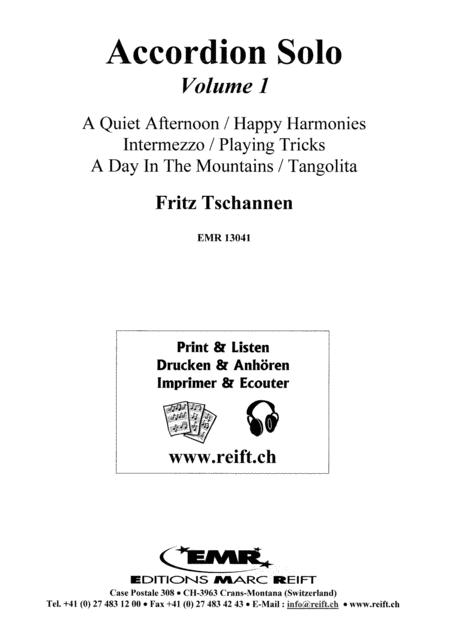 Accordion Solo Volume 1