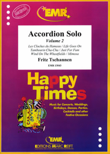 Accordion Solo Volume 2