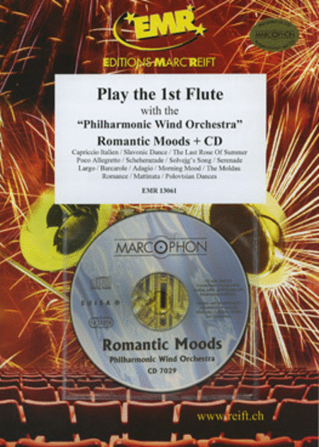 Play the 1st Flute with the Philharmonic Wind Orchestra (with CD)