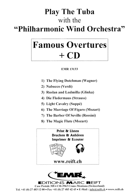 Play the Tuba with the Philharmonic Wind Orchestra (with CD)