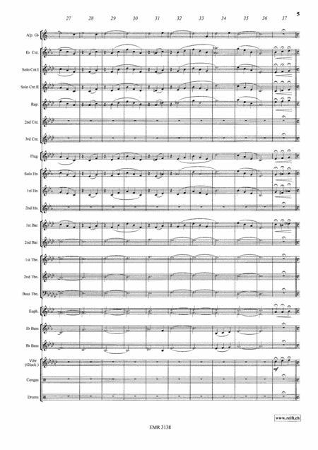 Largo (Alphorn Solo in Gb)