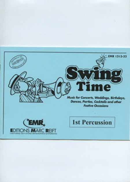 Swing Time - 1st Percussion